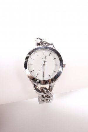 "DKNY Uhr mit Metallband ""Chambers Stainless Steel Link Silver"" silberfarben"
