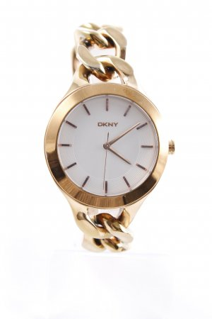 DKNY Uhr mit Metallband goldfarben Casual-Look