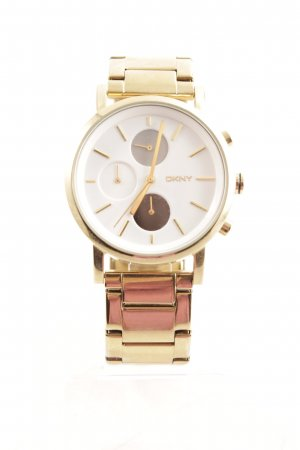 DKNY Uhr mit Metallband goldfarben Elegant