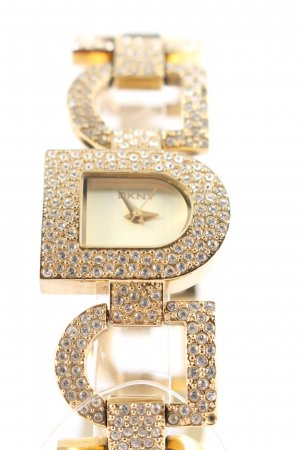 DKNY Watch With Metal Strap gold-colored-white elegant