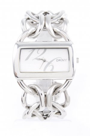 "DKNY Watch With Metal Strap ""NY4236"" silver-colored"