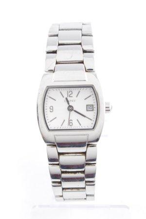 DKNY Orologio con cinturino di metallo argento stile casual