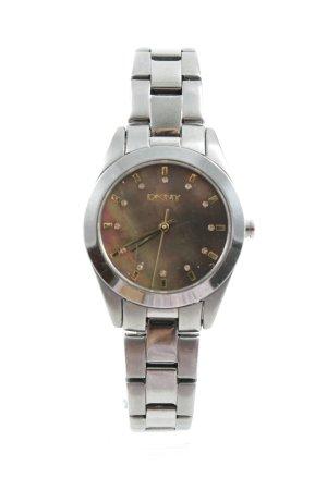 DKNY Uhr mit Metallband silberfarben-goldfarben klassischer Stil
