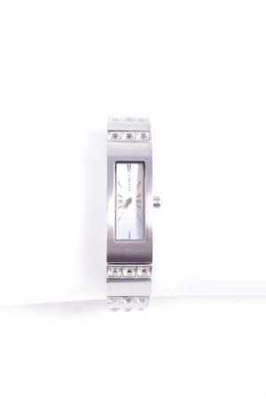 DKNY Uhr mit Metallband silberfarben klassischer Stil