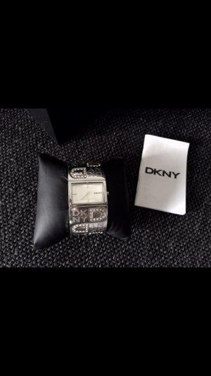 DKNY Uhr Neu mit Swarovski Steinen
