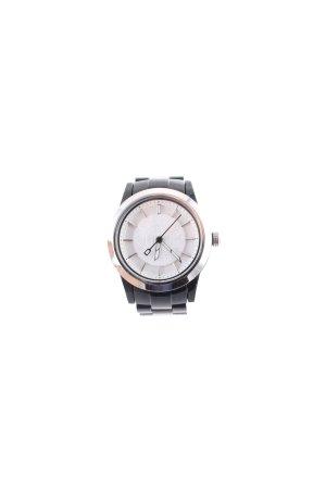 DKNY Uhr schwarz-silberfarben schlichter Stil