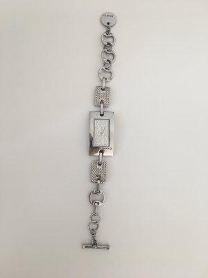 DKNY Uhr Silber mit Sternchen