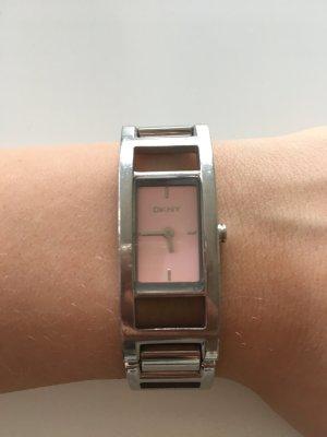 DKNY Uhr silber/rosa
