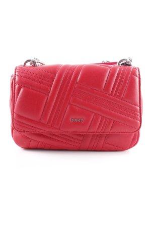 """DKNY Umhängetasche """"Allen MD Flap Shoulder Bag Rouge"""" rot"""