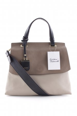 "DKNY Umhängetasche ""Lexington Wide Shoulder Taupe/Black"""