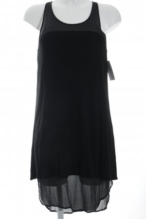 DKNY High Low Dress black street-fashion look