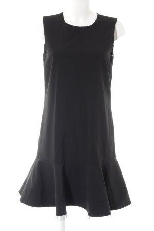 DKNY Volantkleid schwarz klassischer Stil