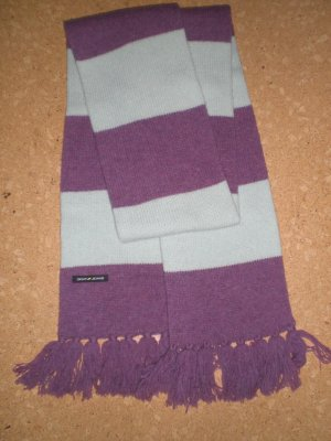 DKNY Knitted Scarf lilac-pale green