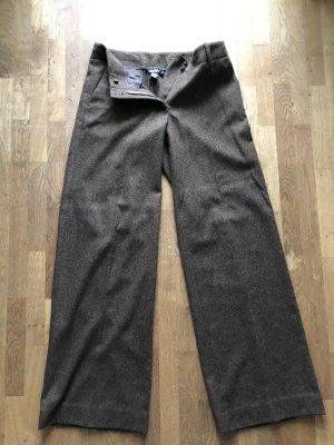DKNY Pantalone di lana marrone