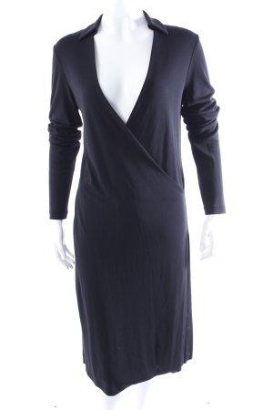 DKNY Wickelkleid schwarz