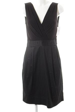 DKNY Wickelkleid schwarz Elegant