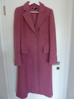 DKNY Wollen jas roze Wol
