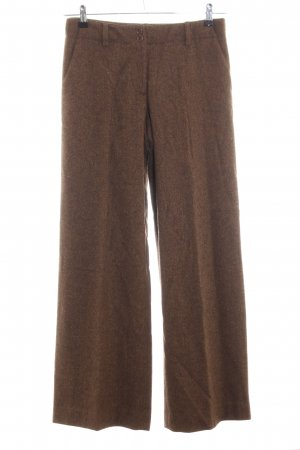 DKNY Woolen Trousers brown business style