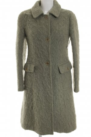 DKNY Wolljacke graugrün extravaganter Stil
