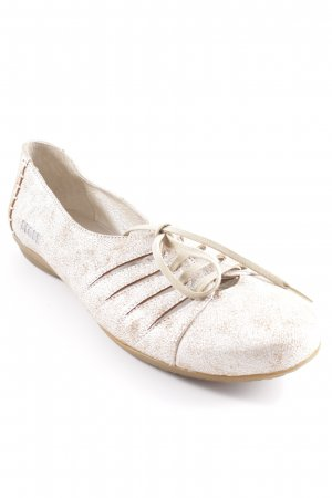 Dkode Lace Shoes silver-colored-beige casual look