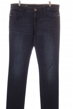 Dl1961 Straight-Leg Jeans dunkelblau Casual-Look