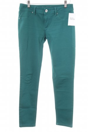 Dl1961 Stretchhose kadettblau Street-Fashion-Look