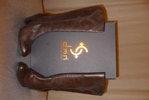 DMN Stiefel Italy Stiefel Größe 39 braun Leder