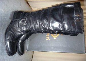 DMN Stiefel Made in Italy Gr. 40 schwarz