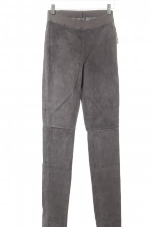 DNA Lederhose dunkelgrau Casual-Look