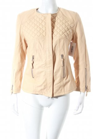 DNA Leather Jacket beige classic style