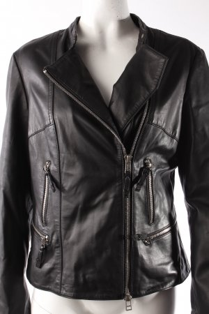 DNA Lederjacke Bikerstil
