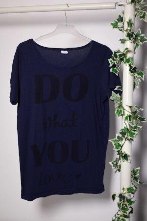 Do what u Love Shirt von Vero Moda