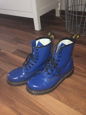 Dr. Martens Lace-up Boots blue