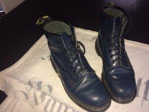 Doc Martens boots dunkelblau, Größe 6/39