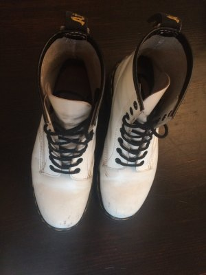 Doc Martens boots weiss, Größe 6/39
