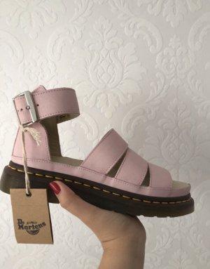 Dr. Martens Platform Sandals multicolored leather