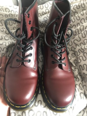 Dr. Martens Lace-up Boots multicolored leather