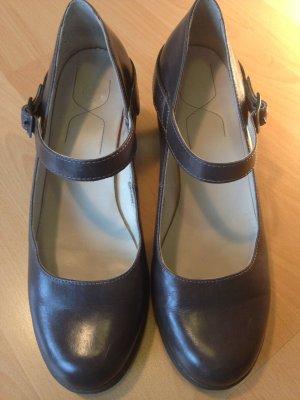 Doc Martens Leder-Riemchen-Schuhe, Gr. 42