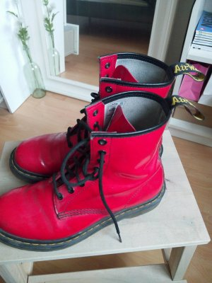 Doc Martens Rot 41 Festival Boots