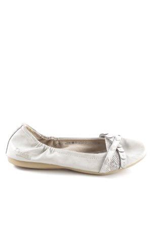 Dockers Foldable Ballet Flats light grey animal pattern casual look
