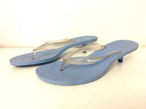 Dockers Sandalias con talón descubierto azul celeste