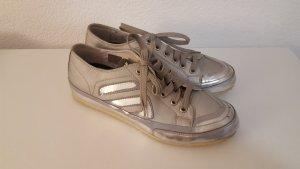 Dockers Footwear Sneakers Schnürschuhe silber Größe 42