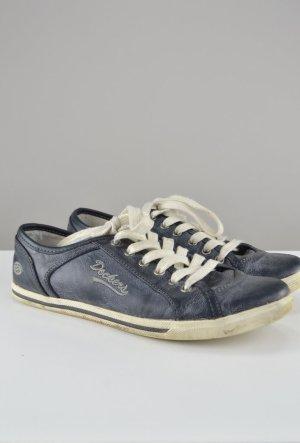 Dockers Schnürschuhe Halbschuhe blau Größe 38
