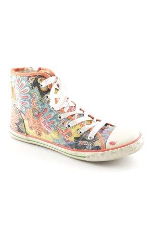 Dockers Lace-Up Sneaker floral pattern street-fashion look
