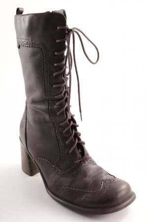 Dockers Lace-up Boots dark brown casual look