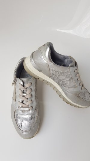 Dockers Lace-Up Sneaker silver-colored