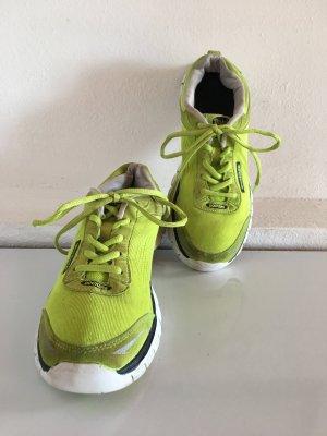 DOCKERS Sneakers grellgrün-gelb, Gr. 38
