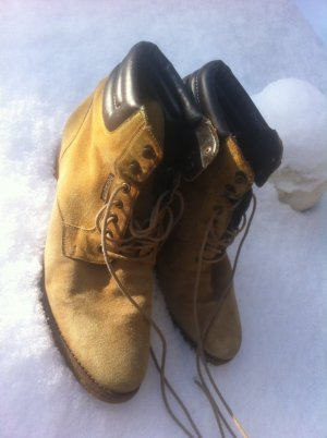Dockers Lace-up Boots sand brown-bronze-colored