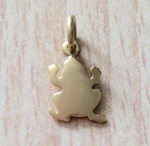 Dodo - Frosch Anhänger aus Gold