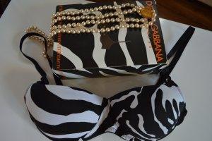 Dolce & Gabbana Reggiseno nero-bianco